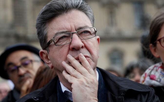 Prantsuse vasakpoliitik Jean-Luc Mélenchon.