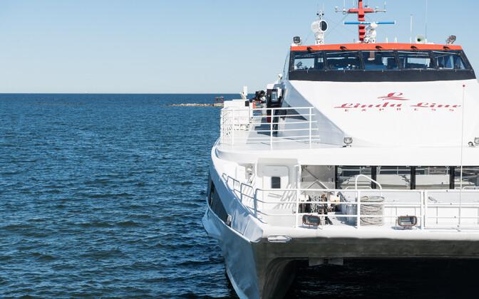 Linda Line catamaran.