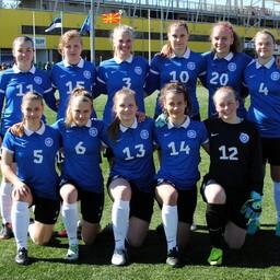 Eesti neidude U-19 jalgpallikoondis