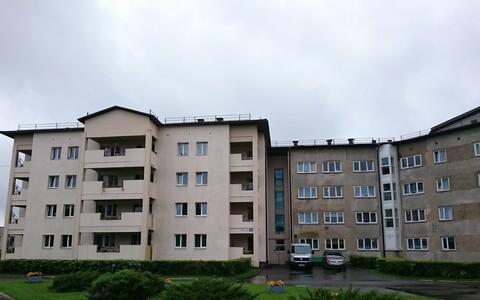 Дом престарелых в Кохтла-Ярве.