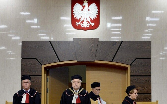 At Poland's supreme court.