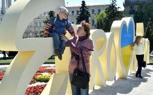Киев готовится к Евровидению.
