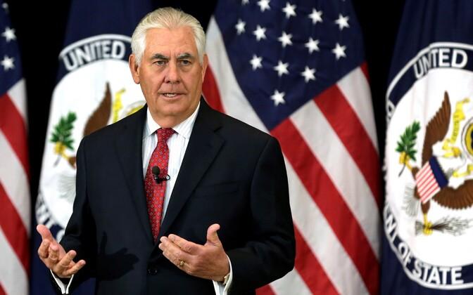 USA välisminister Rex Tillerson.
