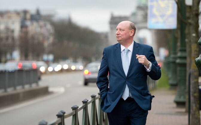 European Commission Director-General for Mobility and Transport Henrik Hololei in Brussels. Jan. 29, 2016.