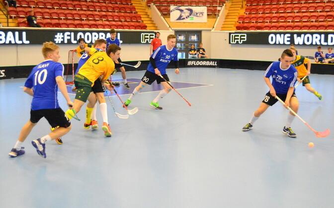 Eesti - Austraalia mäng juunioride MM-il