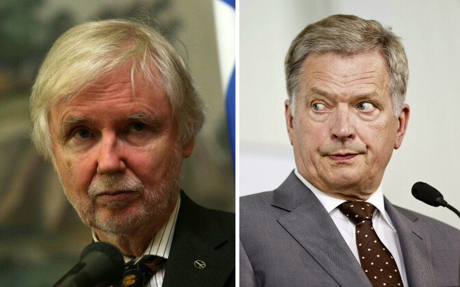 Rahvasaadik Tuomioja ja president Niinistö.