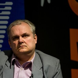 Editor-in-chief of Estonian foreign policy magazine Diplomaatia, Erkki Bahovski.