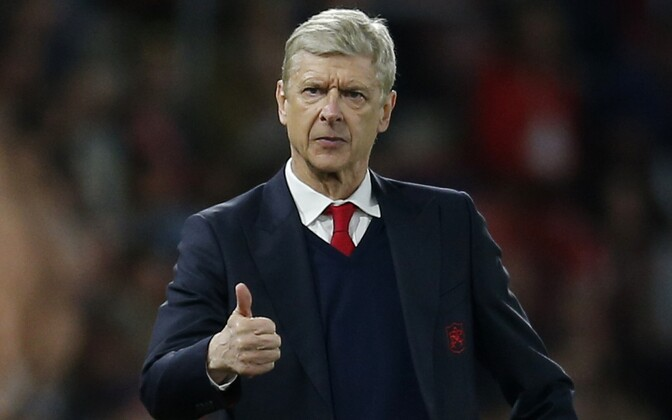 Arsenali peatreener Arsene Wenger