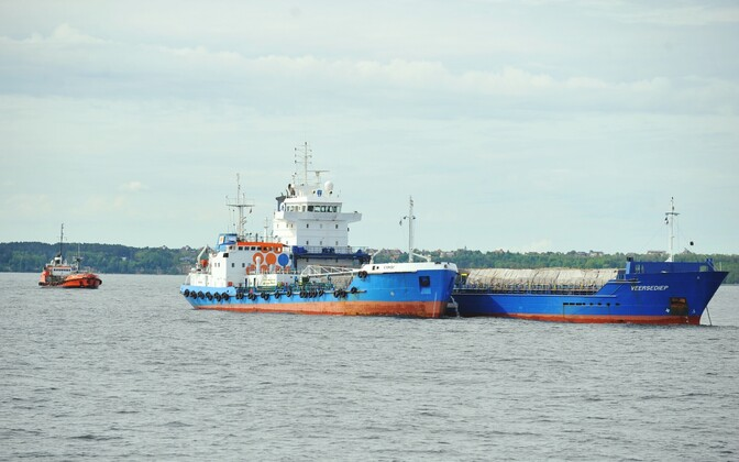 Cargo ship. Photo is illustrative.