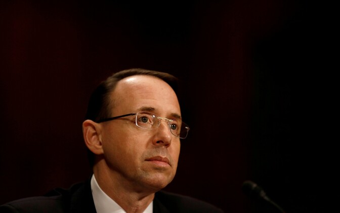 USA asejustiitsminister Rod Rosenstein.
