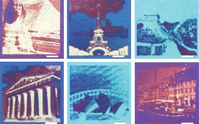 Näited printeriga loodud fotodest.