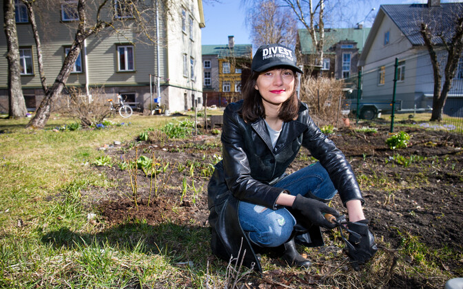 Eestimaa Roheliste uus juht Züleyxa Izmailova.