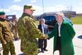заместитель генерального секретаря НАТО Роуз Гетемюллер посетила военный городок Тапа