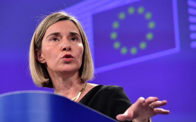 Euroopa Liidu välispoliitika kõrge esindaja Federica Mogherini.