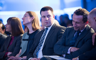 Prime Minister Jüri Ratas at the 2017 Lennart Meri Conference.