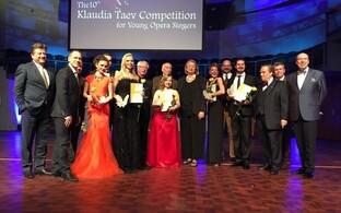 Klaudia Taevi nimelise ooperilauljate konkursi võitja