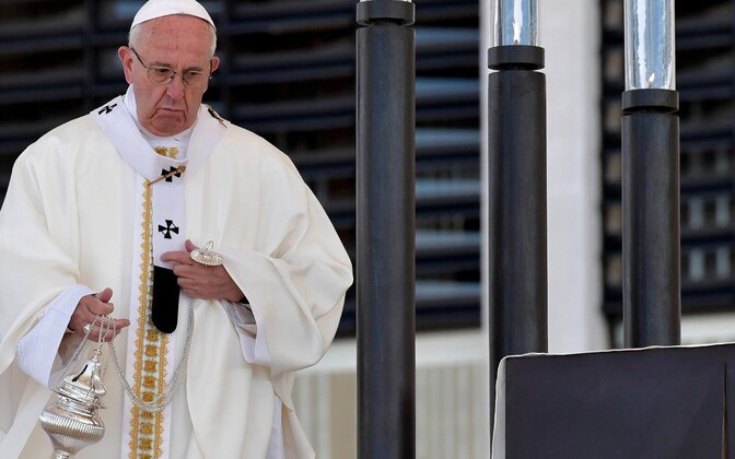 Визит Папы римского вЭстонию назначен на середину сентября