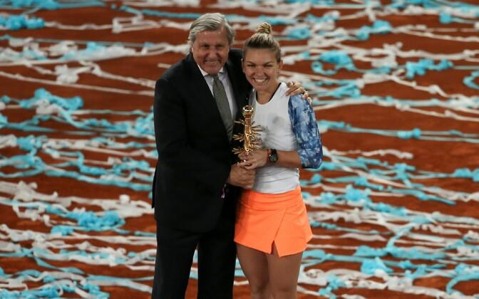Ilie Nastase ja Simona Halep