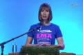President Kersti Kaljulaid emadepäeva kõne pidamas.