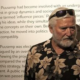 Kunstnik Raivo Puusemp näituse