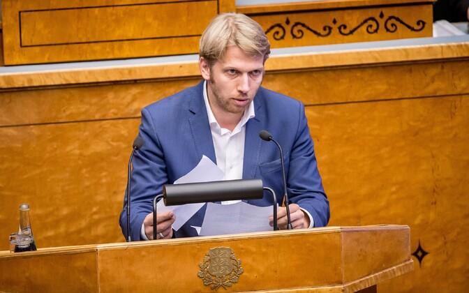 Keskerakonna aseesimees Jaanus Karilaid.
