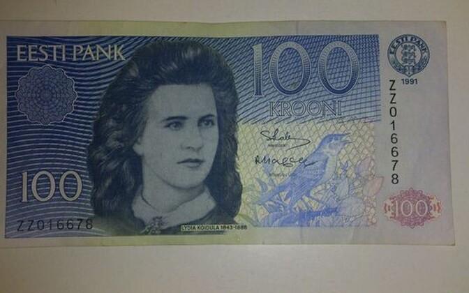 100 krooni