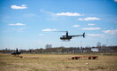 A temporary helicopter support base has been established at Tapa Army Base. May 15, 2017.