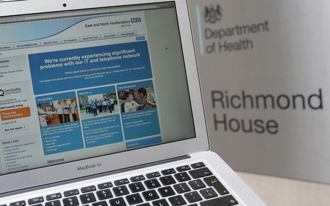 The U.K.'s state-run NHS was one of the victims of the recent worldwide ransomware attack.