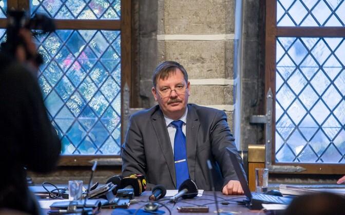 Acting mayor of Tallinn, Taavi Aas.