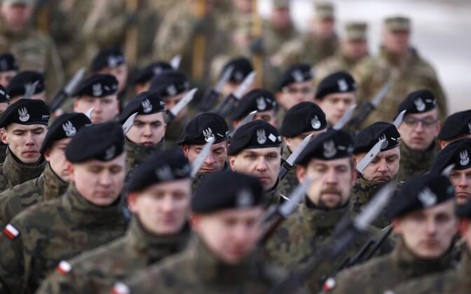 Poola sõdurid.