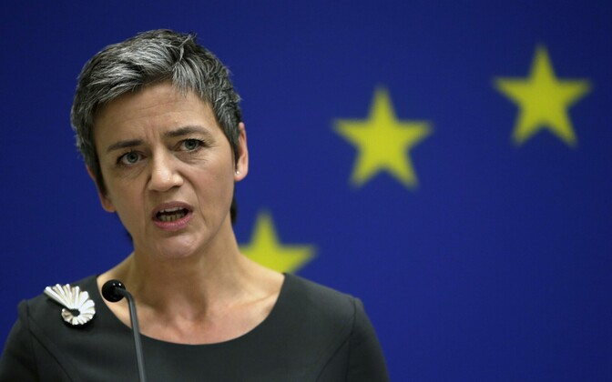 Euroopa Komisjoni konkurentsivolinik Margrethe Vestager.