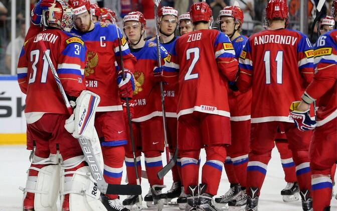 Российская сборная по хоккею на ЧМ-2017.