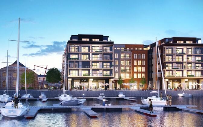 Производственная территория Ноблесснера превратится в открытое городское пространство вблизи моря