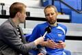 Eesti võrkpallikoondise treening / Kert Toobal
