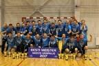 Команда из Пылва выиграла чемпионский титул третий год подряд.