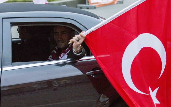 Флаг Турции.