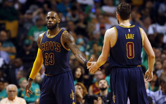 LeBron James ja Kevin Love