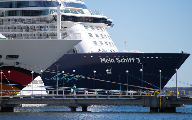 Cruise ships in Tallinn. Photo is illustrative.