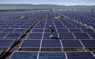Solar panels (image is illustrative)
