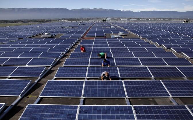 Solar panels (image is illustrative)