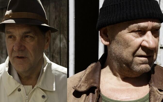 Сергей Маковецкий и Тыну Карк играют жуликов, которые много лет отсидели в тюрьме.