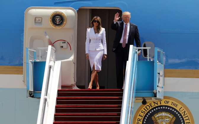 Вовремя сегодняшнего визита вИзраиль Трамп призвал кмиру врегионе