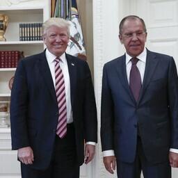 USA president Donald Trump ja Venemaa välisminister Sergei Lavrov 10. mail.