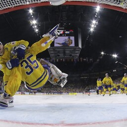 William Nylander ja Henrik Lundqvist
