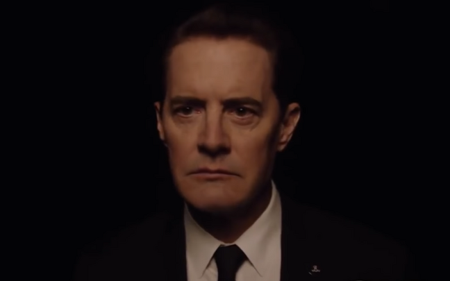 Kyle MacLachlan Dale Cooperina