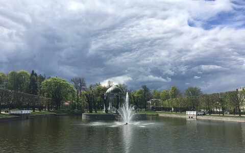 Парк Кадриорг.