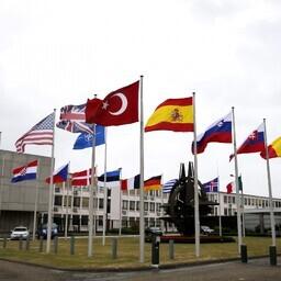 NATO liikmesriikide lipud.