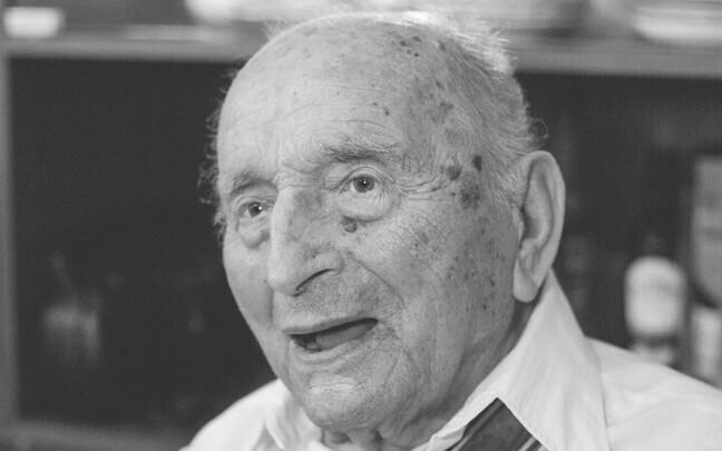 Evald Rooma oma 105. sünnipäeval.