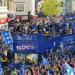 Leicester City jalgpalliklubi võiduparaad 2016. aasta kevadel