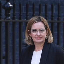 Briti siseminister Amber Rudd.